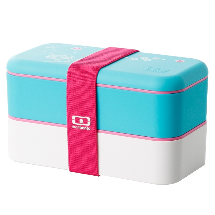 BentoBox Azzurro/Bianco di MonBento su www.fourshopping.it/Monbento