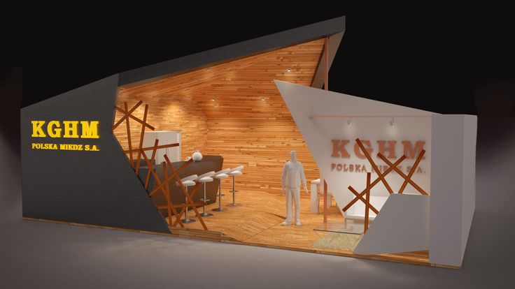 "Concept Art - Exhibition Stand ""KGHM"" on Behance"
