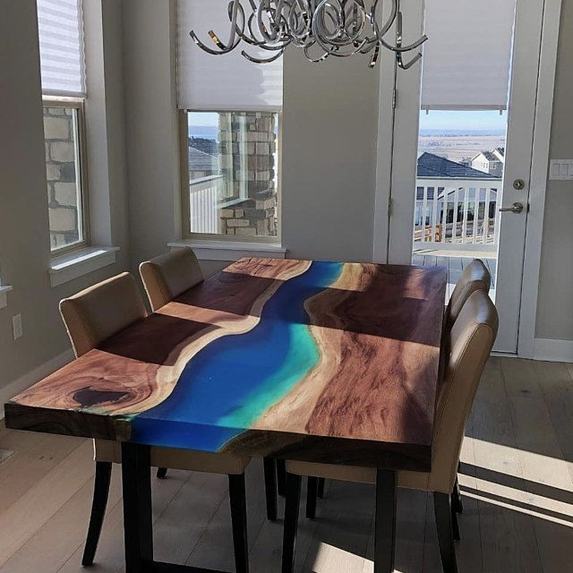 Epoxy Wood Table Resin Furniture