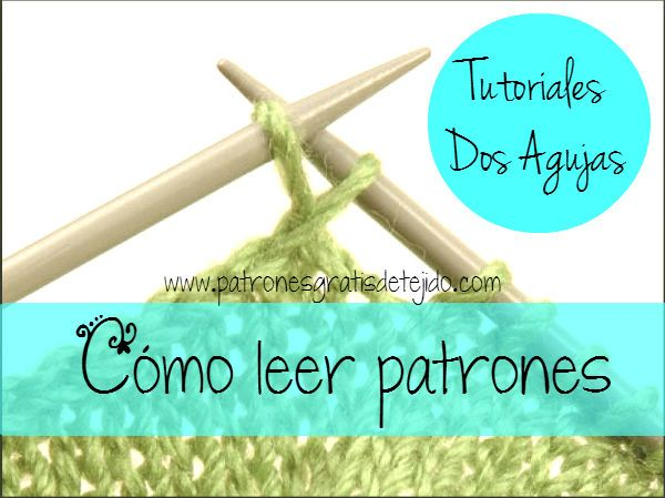 Aprender a leer los  patrones de tejido es como aprender un idioma nuevo. Las expertas afirman que ...