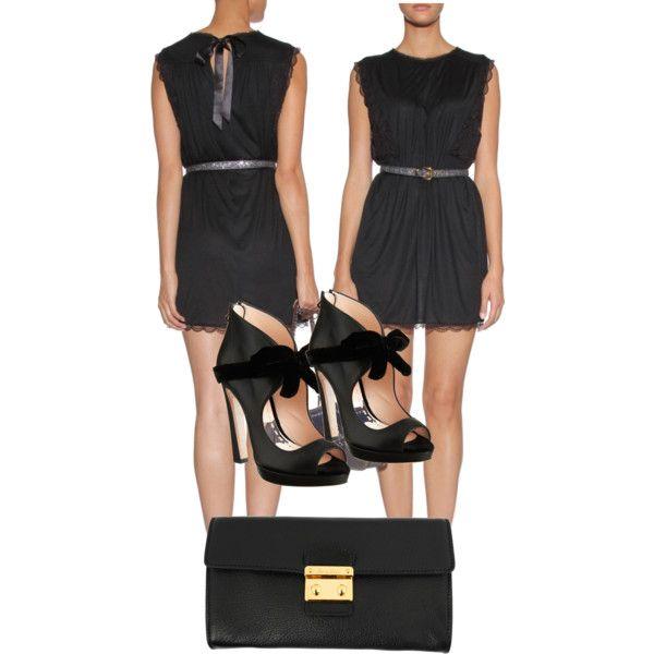 Miu Miu Outfit set, created by preecylove on Polyvore