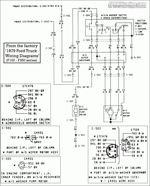 89 Ford Truck Wire Diagram In 2020