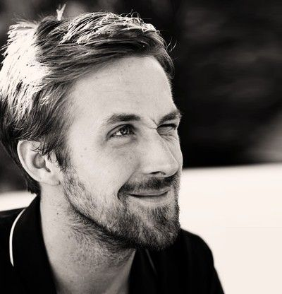 Ryan Gosling - Black & White Celebrity Photographs