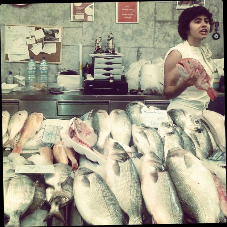 Mercato del Pesce -Cascais Lisbona