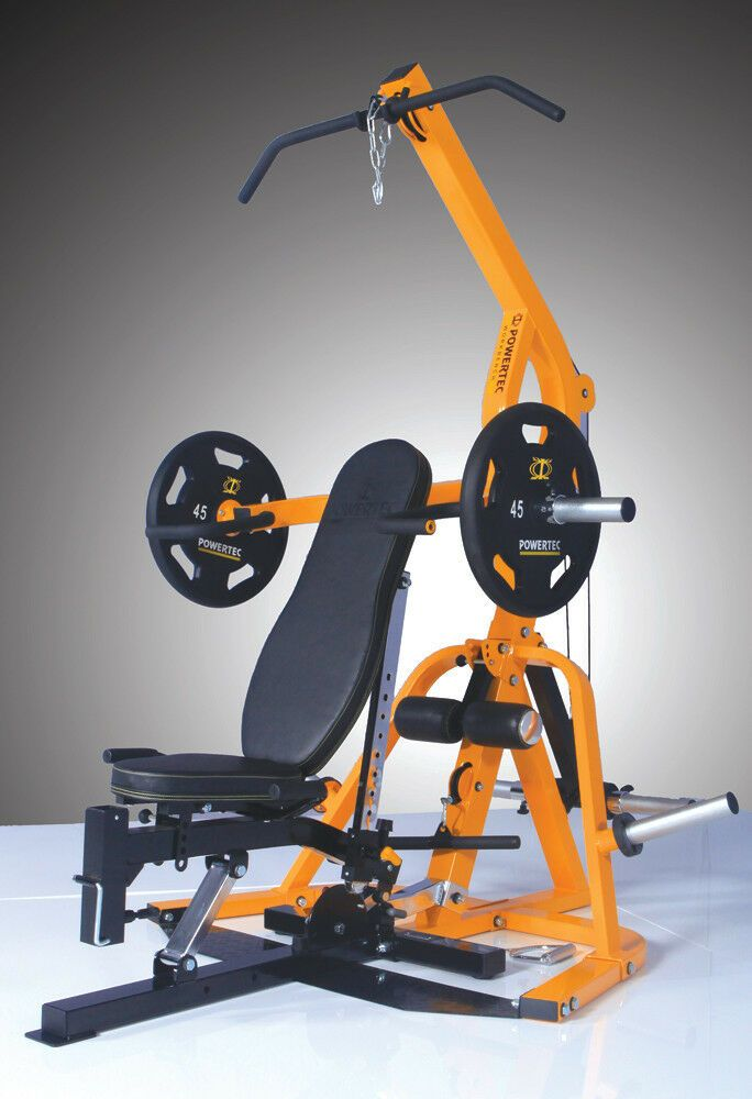 Powertec Multi Station Free Weight Machine At Home Gym Best