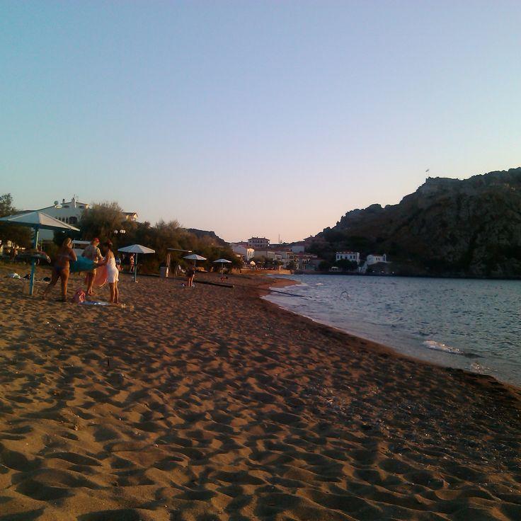 #Myrina Romeikos Gialos LIMNOS island GREECE  photo by Electra Koutouki