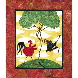 The Swing: Applies Quilts, Chickens Quilts, Applique Quilt Patterns, Chicken Quilts, Swings, Art, Quilting, Swinging Chickens