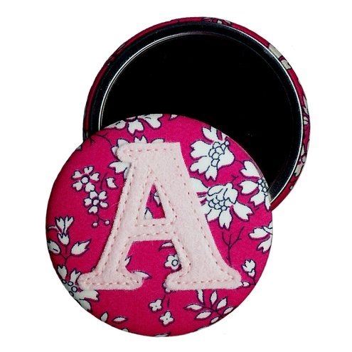 Letter mirror - Liberty fabric £5.00