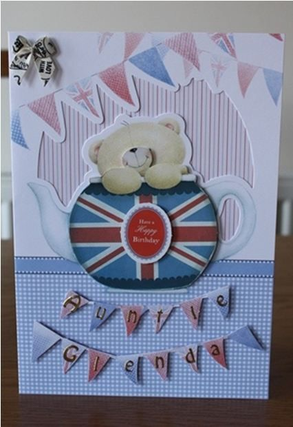 Docrafts Forever Friends Best of British Card Kit