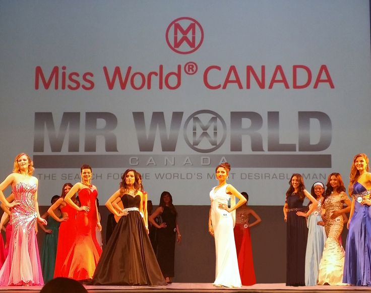 Honored to have dressed the top 10 winner of Miss World Canada 2015 in my white mermaid dress