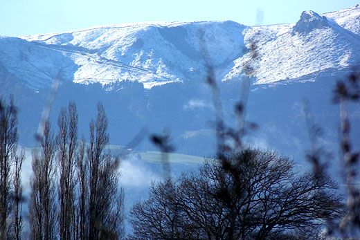 22 Jul, 2014, SunLive - Snow on Kaimai Ranges - The Bay's News First