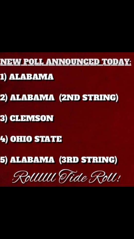 New poll announced...