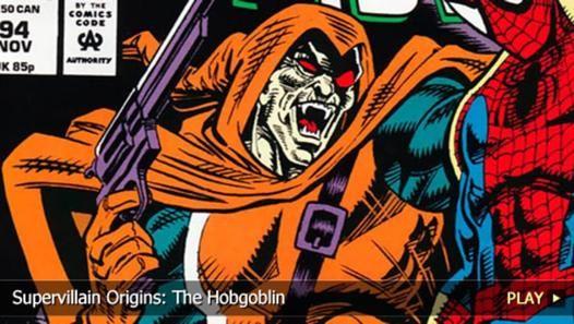 The origins of the Hobgoblin #Spiderman #Hobgoblin