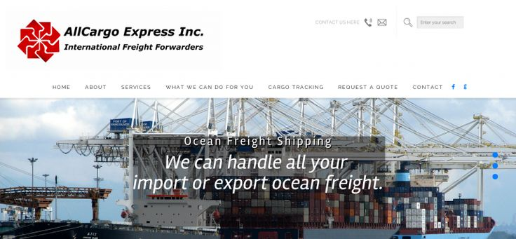 Here's a huge advantage of working with a large cargo company: You get the best possible rates. They command huge volumes of freight through commercial import/export services for major companies, and this gives them the flexibility (and volume) to negotiate good rates for their customers.