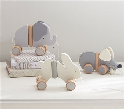Wooden Pull Toys Pottery Barn Kids Wooden Toys Wooden