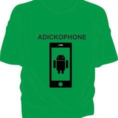 Adickophone - tee-shirt coton homme flex