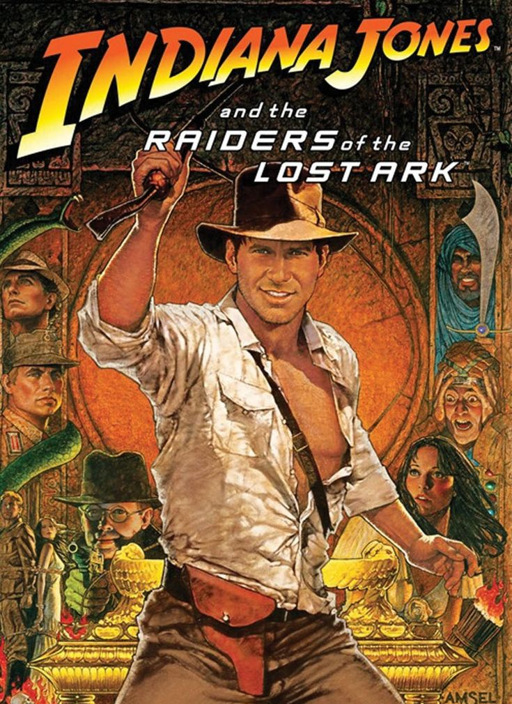 Indiana Jones and the raiders of the lost Ark movie poster