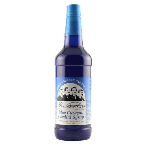 Fee Brothers Blue Curacao Cordial Syrup - 32 oz Fee Brothers http://www.amazon.com/dp/B007Q0UR0U/ref=cm_sw_r_pi_dp_vJLBvb104FK6C