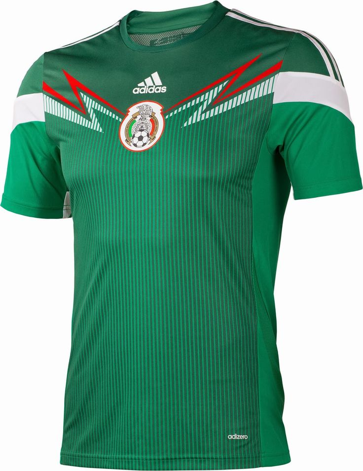 The new Mexico 2014 World Cup Kits are made by adidas. Mexico 2014 World  Cup Home Kit is green / white, while the new Mexico 2014 World Cup Away ...