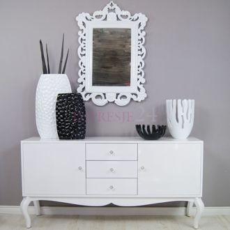 Wspaniała, barokowa komoda | Wonderful, baroque chest of drawers. #komoda #meble #barok #styl #chest_of_drawers #white #furniture #beautiful #wonderful #stylish #baroque