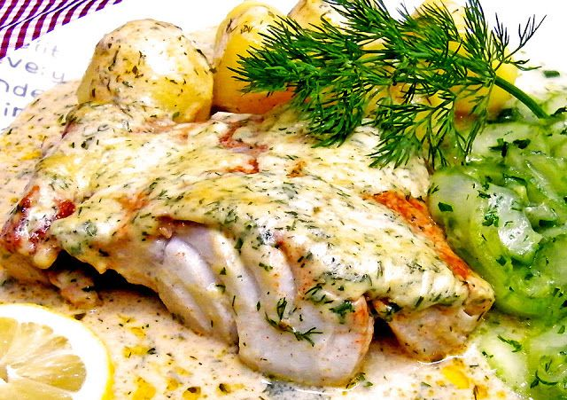 Geheime Rezepte: Kabeljau in Senfsauce (alls Fisch kann auch Dorsch oder Pangasius verwendet werden)