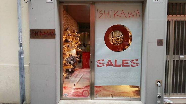 ISHIKAWA STORE RAVENNA SALE  Via Cavour, 104  0544 38143  www.ishikawa.it