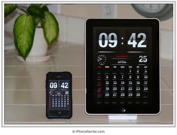 Flip Time Clock: Reception, Time Clock, Idea, Electronic Clock, Ipad