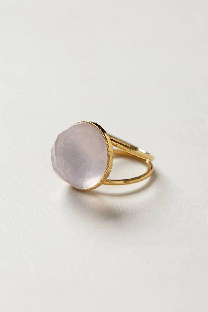 Pin for Later: 40 Pieces of Jewelry Every Girl Will Love Anthropologie Etesian Quartz Ring Eva Krystal Etesian Quartz Ring ($328)