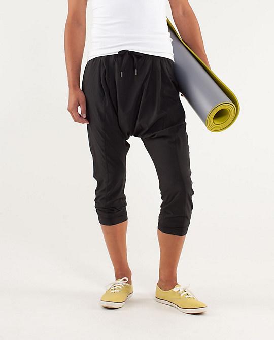 $69 lululemon-Modern Tranquil Pant (kinda weird kinda dig)