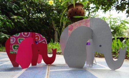 olifant van papier