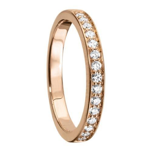 Diamantring i 18K guld -