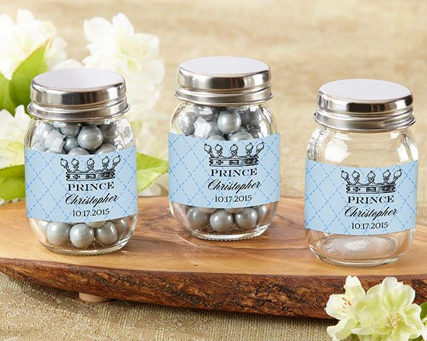 """Baby Shower Favors; Baby Shower Decorations; Baby Boy Favors; Boy Party Favors  Adorable """"Little Prince"""" theme baby shower favors for a boy."""