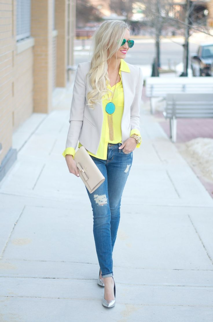 Yellow and blue style