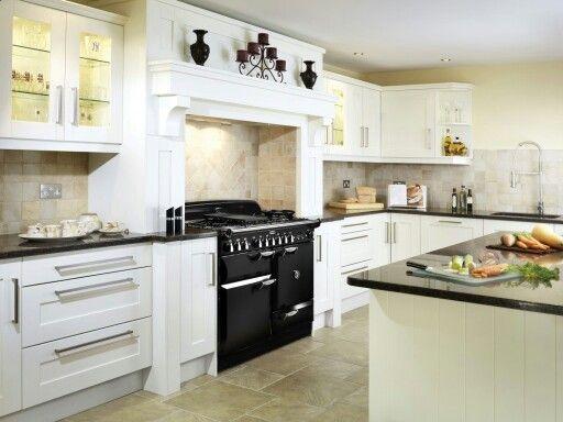 Zwart Keuken Fornuis : Witte keuken met zwart fornuis design inspiration for the