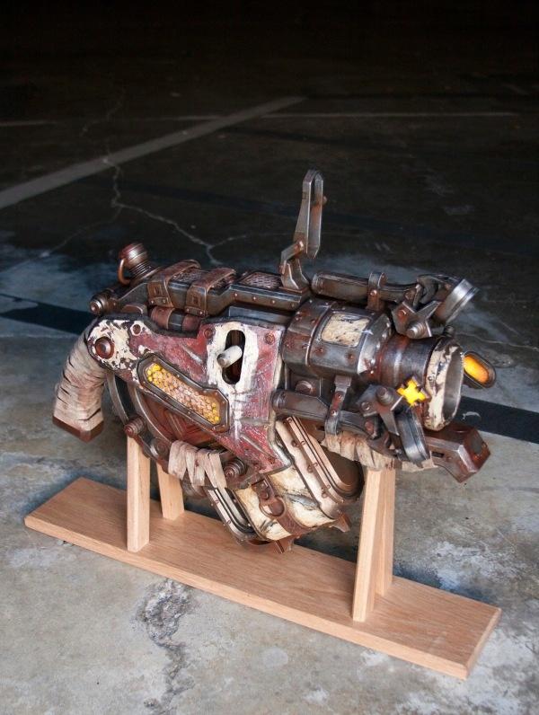 Portal-turret - gears of war