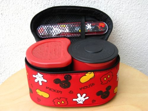 Mickey Mouse Thermal Bento Set
