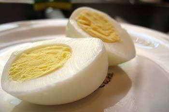Receta para hacer Salsa vinagreta con huevo duro