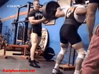 """18 Hilarious Weightlifting GIFs to """"Pump You Up!"""" (LOL! Get it?) from GifGuide"""