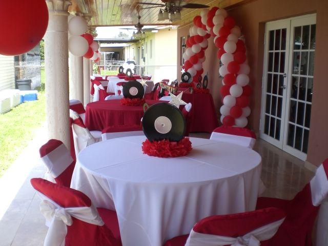 Graduation Dinner Party Ideas Part - 22: Graduation Decoration Ideas | Album :: Fun Decorations ::  High_School_Musical_Party_Decoration_11