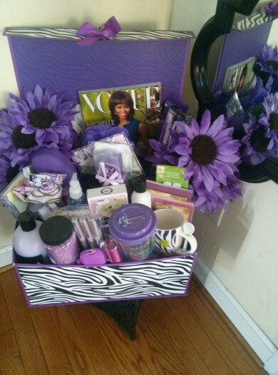 7 best purple gift baskets images on pinterest gift basket gift zzs creations gift basket my mothers day purple passion gift basket negle Image collections