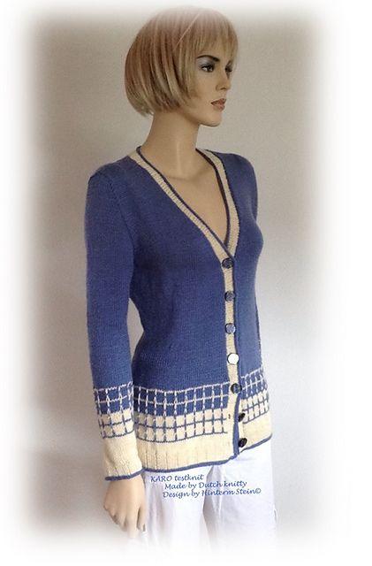 LOL MET WOL: KARO een top-down vest in klassiek sportieve stijl.