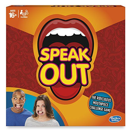 Hours and hours and hours of jaw aching laughter with this game for family and friends at christmas. Hasbro Speak Out Game
