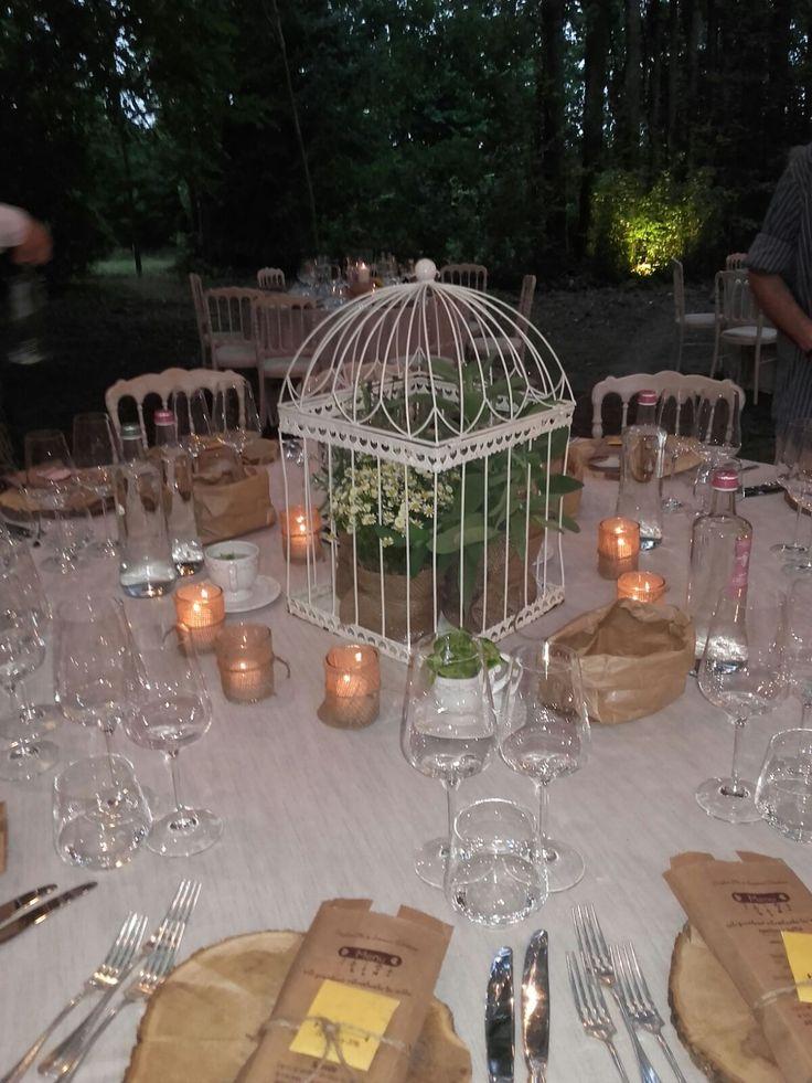 Table - tavolo - fiori - flowers - rustic wedding - matrimonio