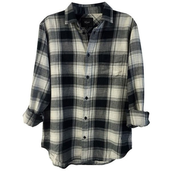 Rails Men's Justin Plaid Button Down Shirt ($138) ❤ liked on Polyvore featuring men's fashion, men's clothing, men's shirts, men's casual shirts, tops, blouses, men, shirts, mens cotton shirts and mens button up shirts