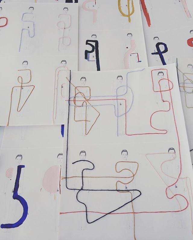 #sketchbook #shape #process #painting