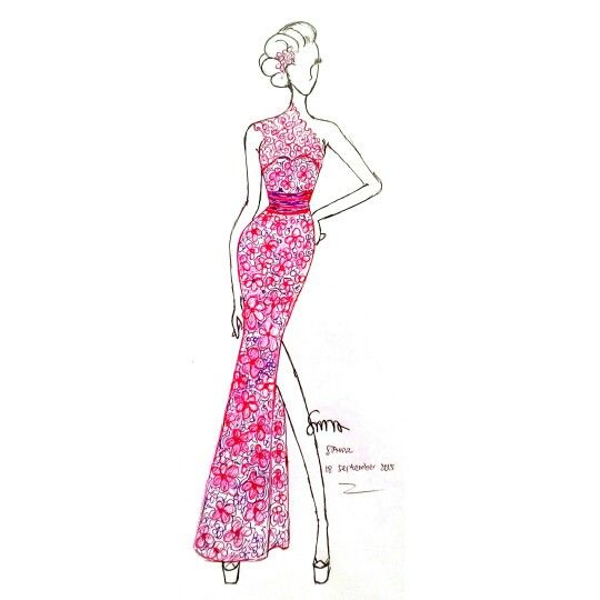 Design by SAMZ #illustrator #Fashion #design #Samarinda #KalimantanTimur On Sale : +6281350443837