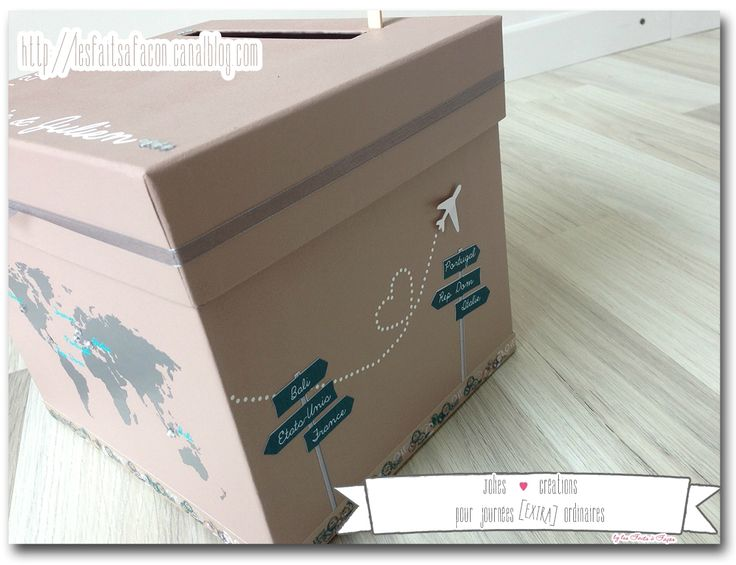 urne cadeau voyage et strass 5