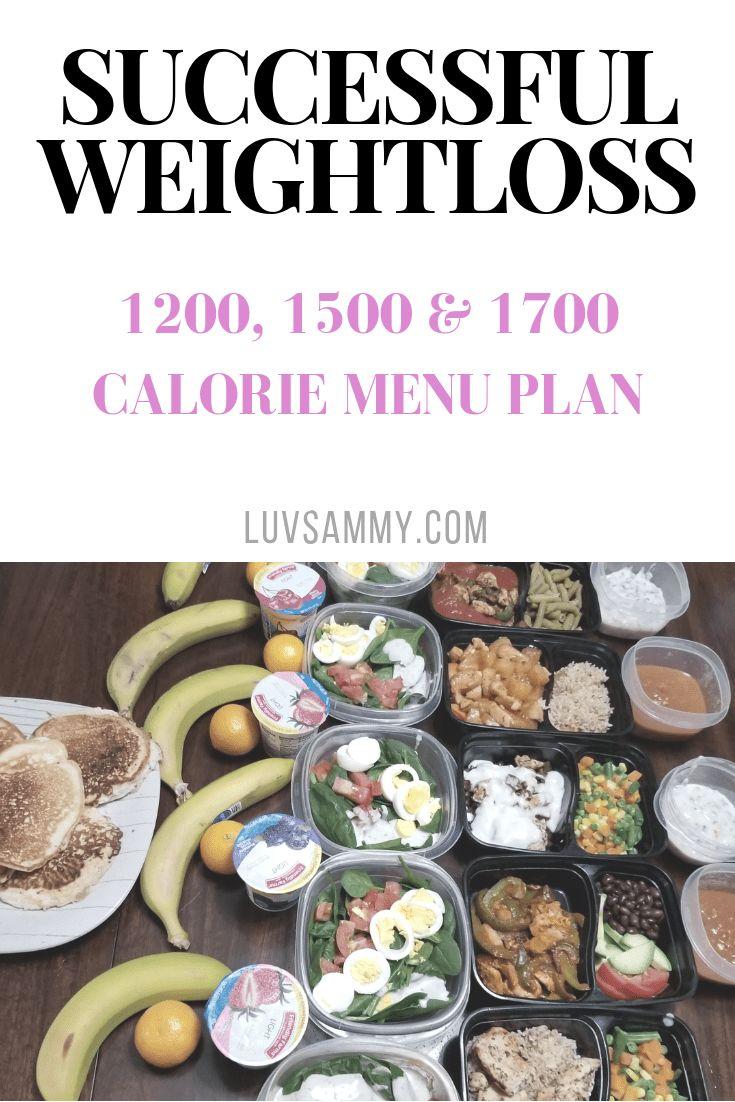 1200 To 1700 Calorie Menu: Plus Meal Prep Blueprint