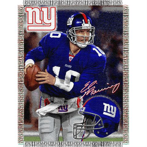 Use this Exclusive coupon code: PINFIVE to receive an additional 5% off the Eli Manning New York Giants Players Throw at SportsFansPlus.com
