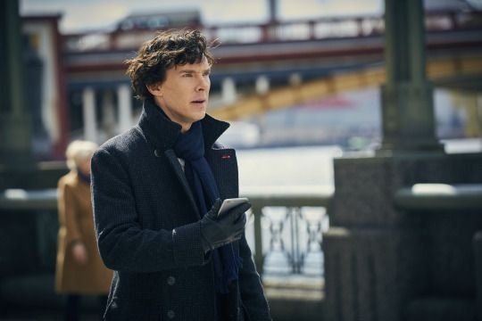 SHERLOCK (BBC) ~ Benedict Cumberbatch. S4 promo photo.